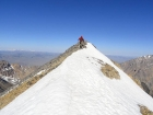 Nearing the summit of USGS Peak, Idaho's 10th highest.