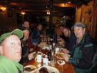 Breakfast at Smiley Creek Lodge before the climb. GeorgeR photo.