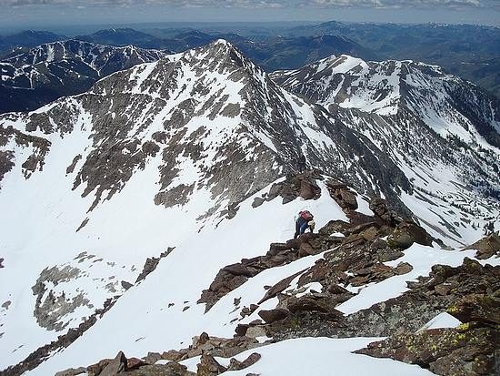 Nearing the summit of McIntyre Peak.